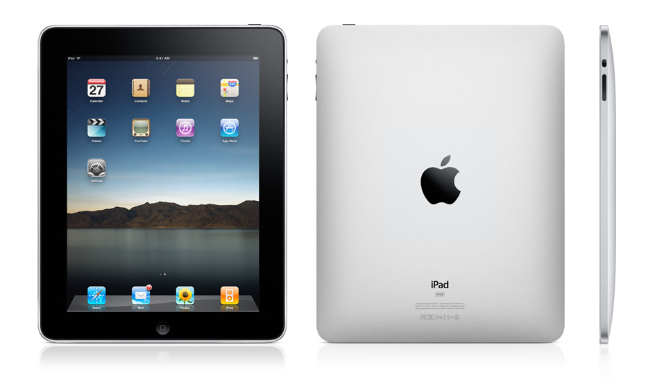 Apple iPad - Initial Marketing Image, copyright Apple Computer