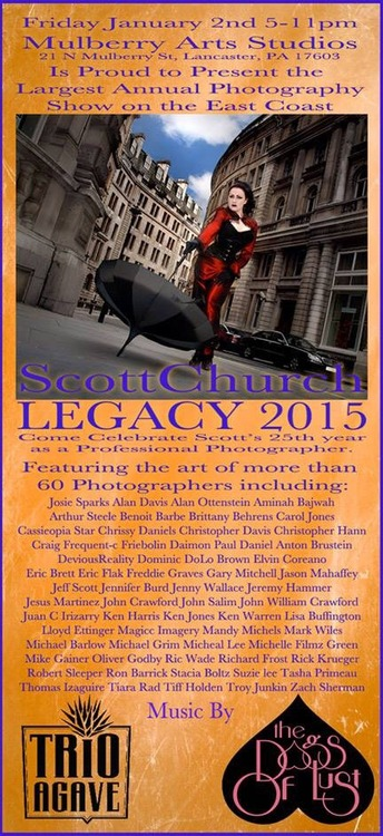 Legacy Show Flyer 2014