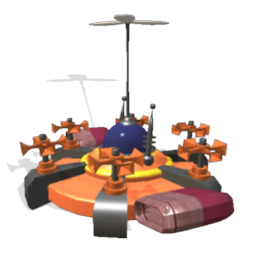 Spore Religious Land Vehicle - LoveSaucer - created by Maleghast